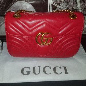 Red Womens Handbag